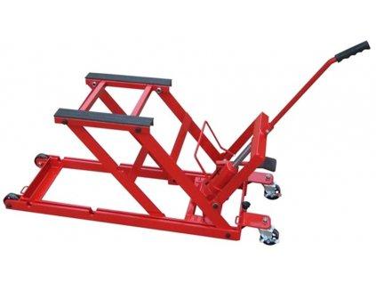 Paralelogramový hydraulický pojízdný zvedák pro motocykly ZD05157