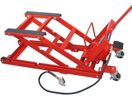 Paralelogramový hydraulicko-pneumatický pojízdný zvedák ZD