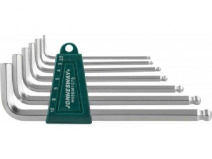 Sada klíčů Imbus s kuličkou, dlouhých, 2.5 - 10 mm
