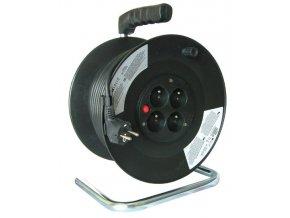 Prodlužovací kabel 3x1,5mm2 buben 50m,  4x zásuvka