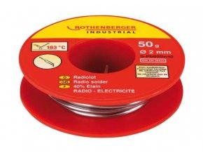 Rothenberger - rádiový pájkový drát 50g, 2mm