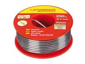 Rothenberger - rádiový pájkový drát 250g, 2mm