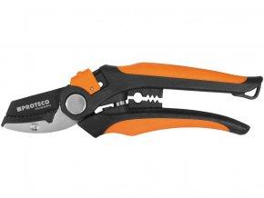 nůžky zahradnické 205mm kovadlinkové