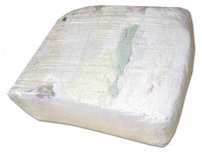 Čistící hadry, bílý textil 10kg