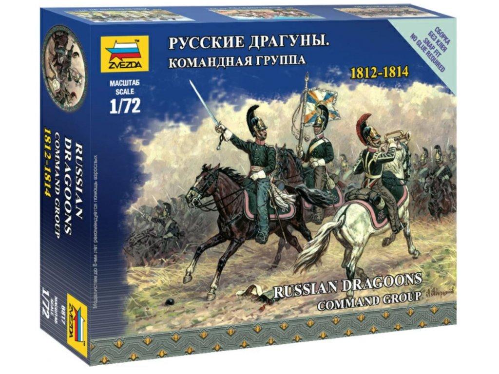 ruští dragouni veliteská skupina1