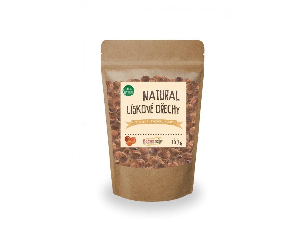 Natural Lískový ořech 150g png