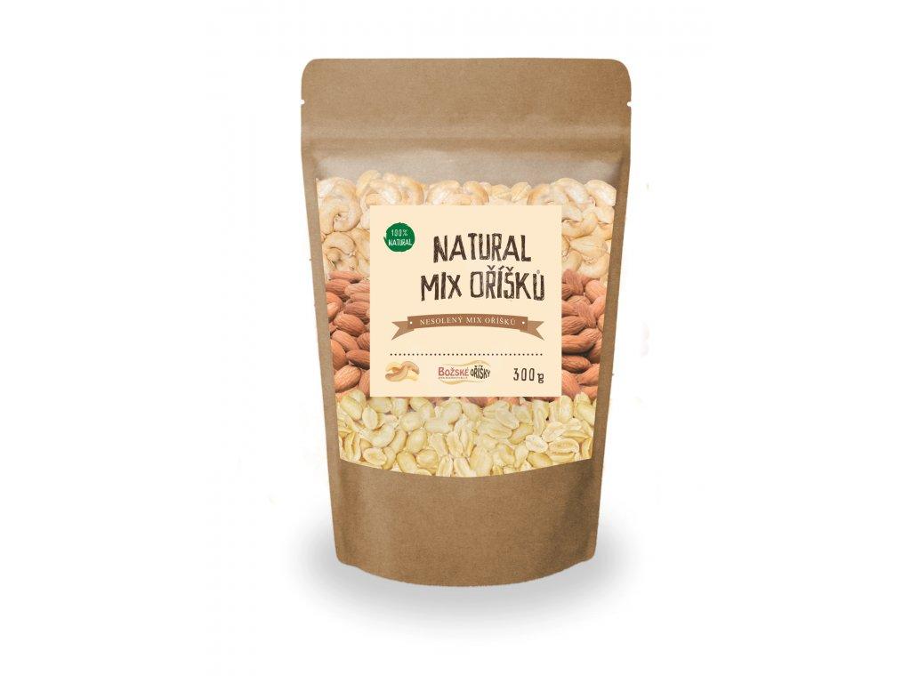Natural mix oříšků 300g png