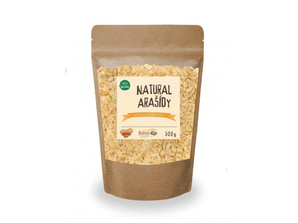 Natural Arašídy 300g png