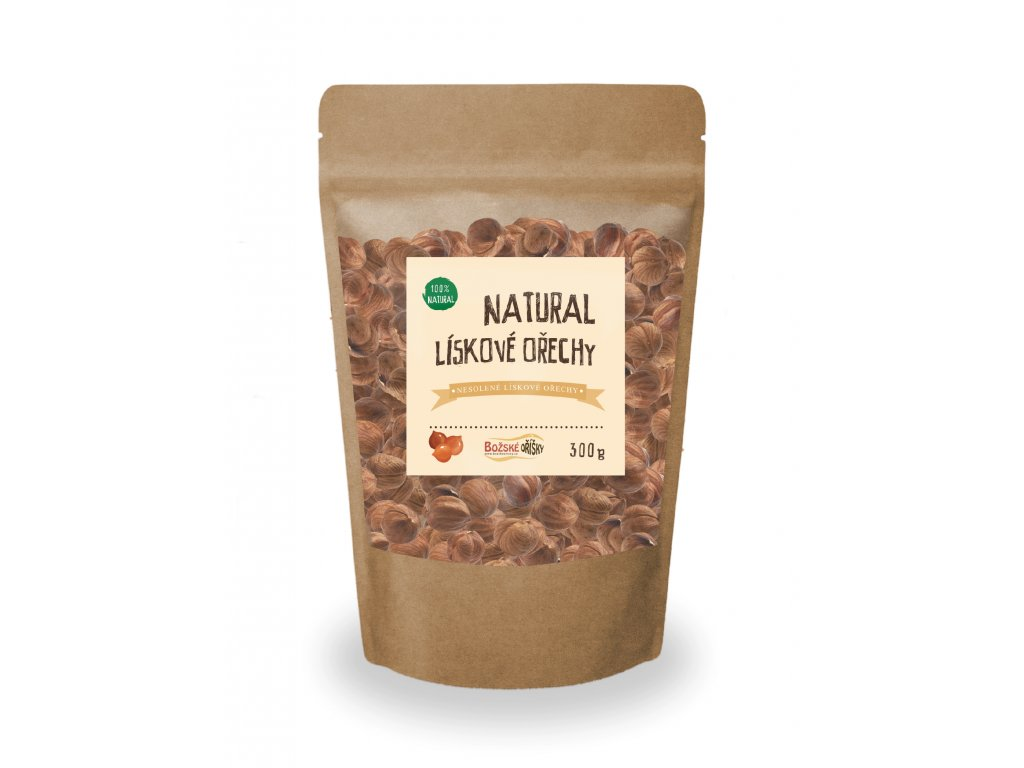 natural liskove orechy 300g