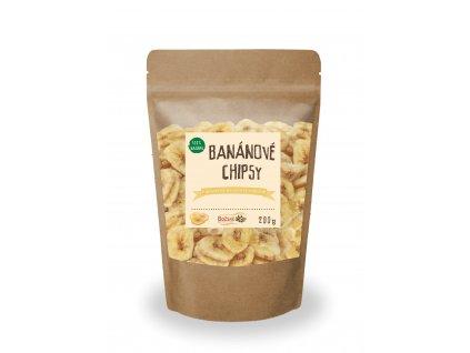 Bananové chipsy 200g