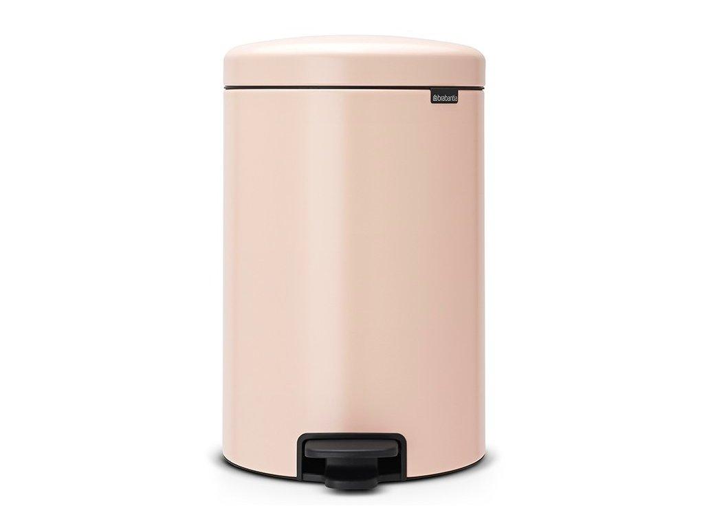 Pedálový koš NewIcon 20L růžová