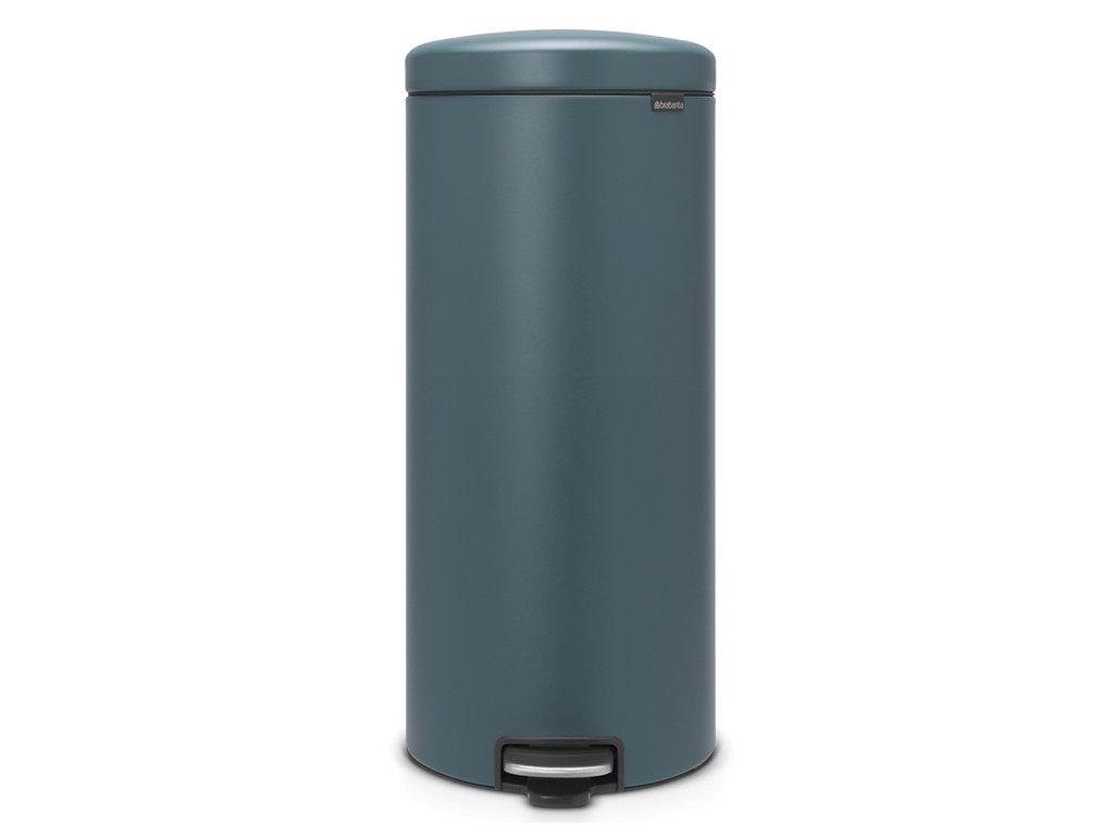 Pedálový koš NewIcon 30L minerální modrá