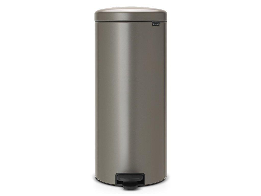 Pedálový koš NewIcon 30L platinová