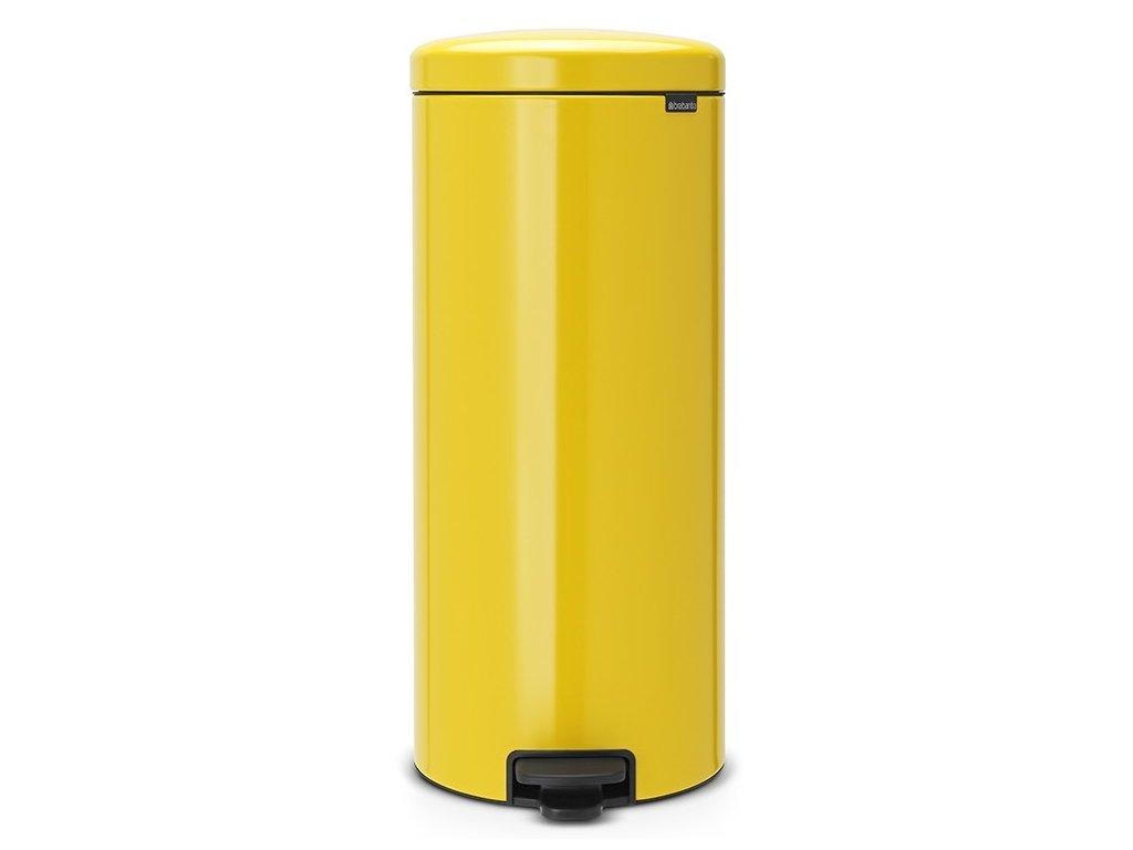 Pedálový koš NewIcon 30L žlutá