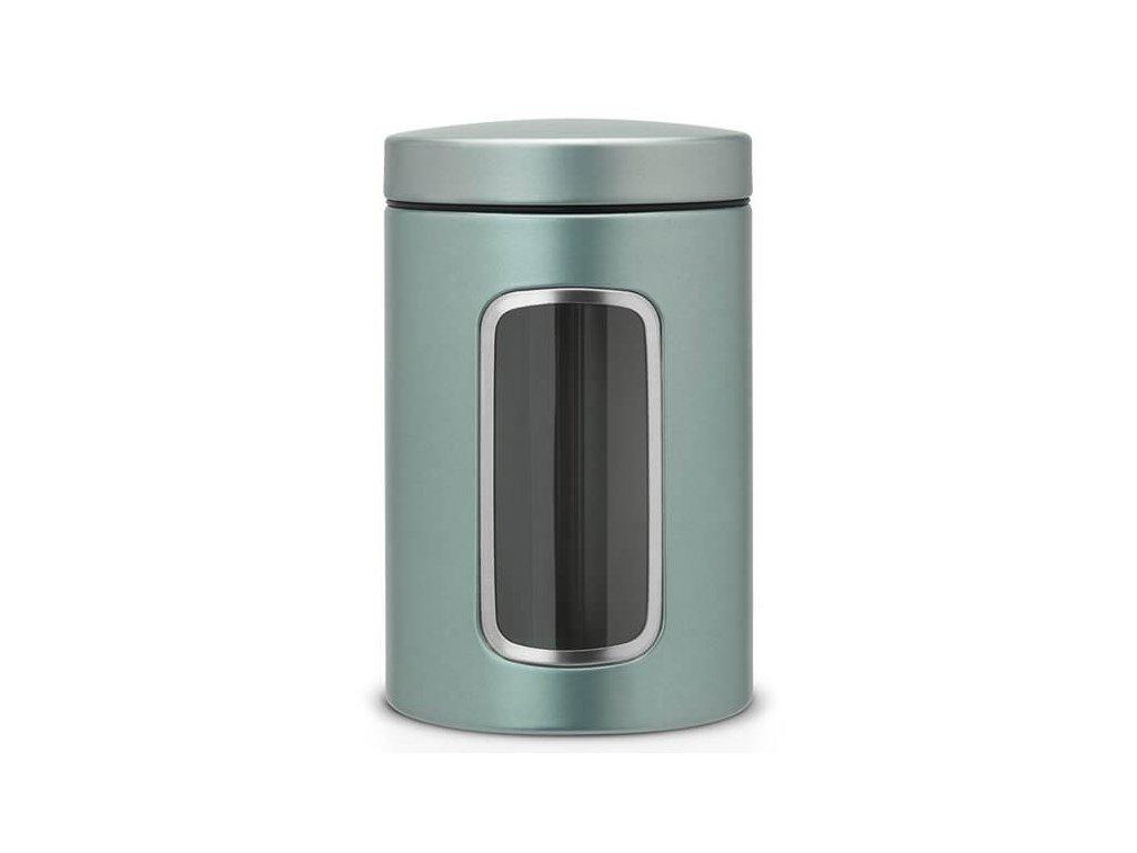 Dóza okénko 1,4L metalická mátová