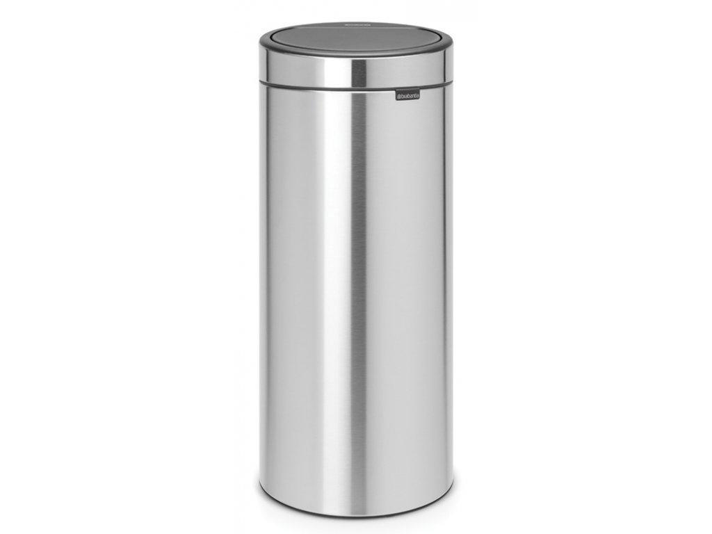 Touch Bin New, 30L Matt Steel 8710755115349 Brabantia 96dpi 1000x1000px 7 NR 13393