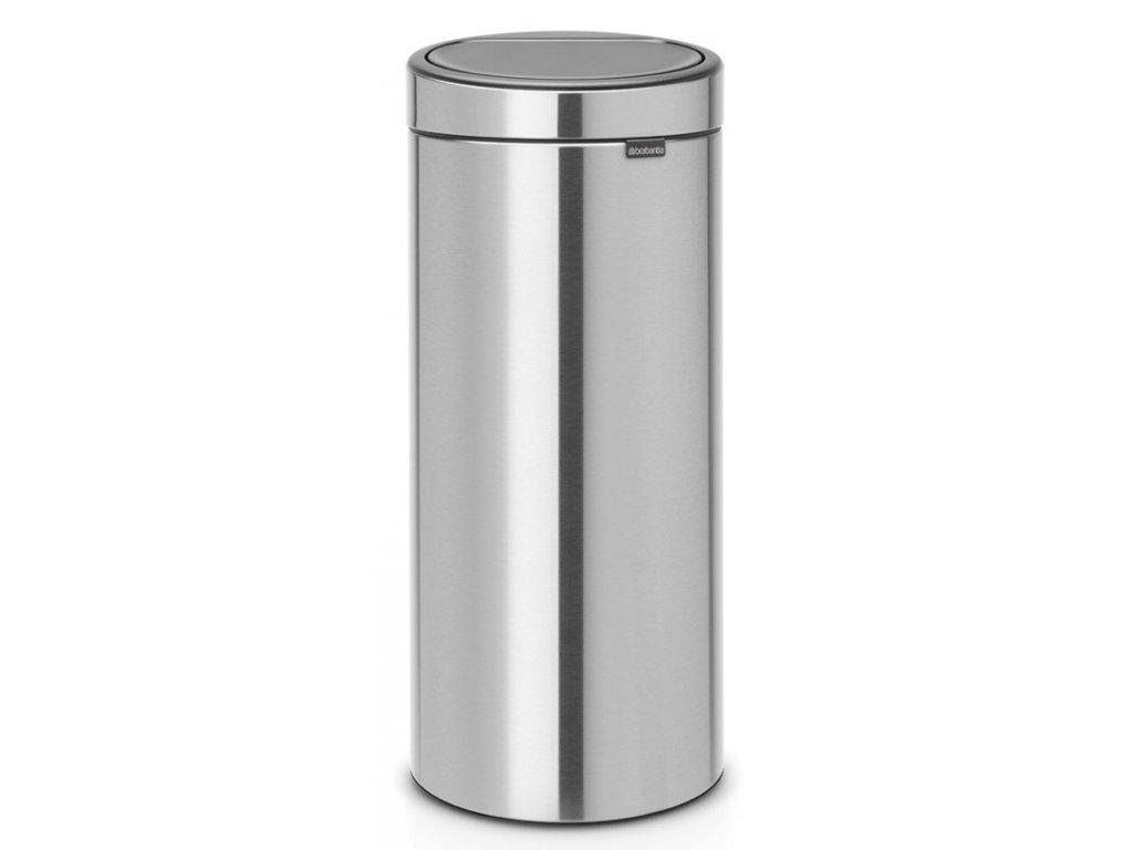 Touch Bin New, 30L Matt Steel Fingerprint Proof 8710755115462 Brabantia 96dpi 1000x1000px 7 NR 13426