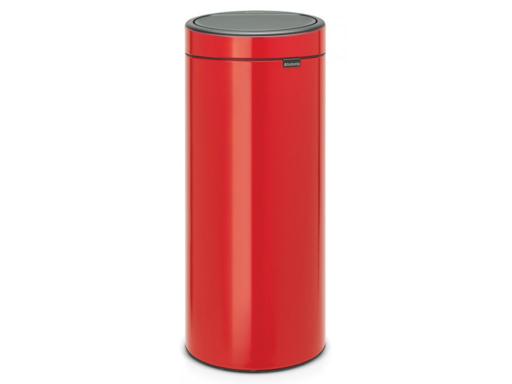 Touch Bin New, 30L Passion Red 8710755115189 Brabantia 96dpi 1000x1000px 7 NR 13368
