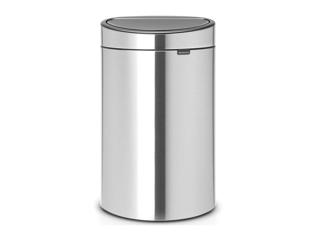 Koš Touch Bin NEW 40L matná ocel otiskuvzdorná
