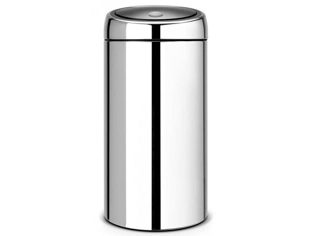 Twin Bin Koš na tříděný odpad 20/20L lesklá ocel
