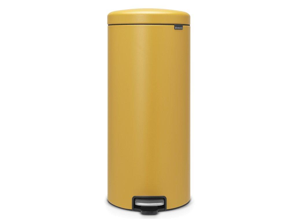 Pedálový koš NewIcon 30L minerální žlutá