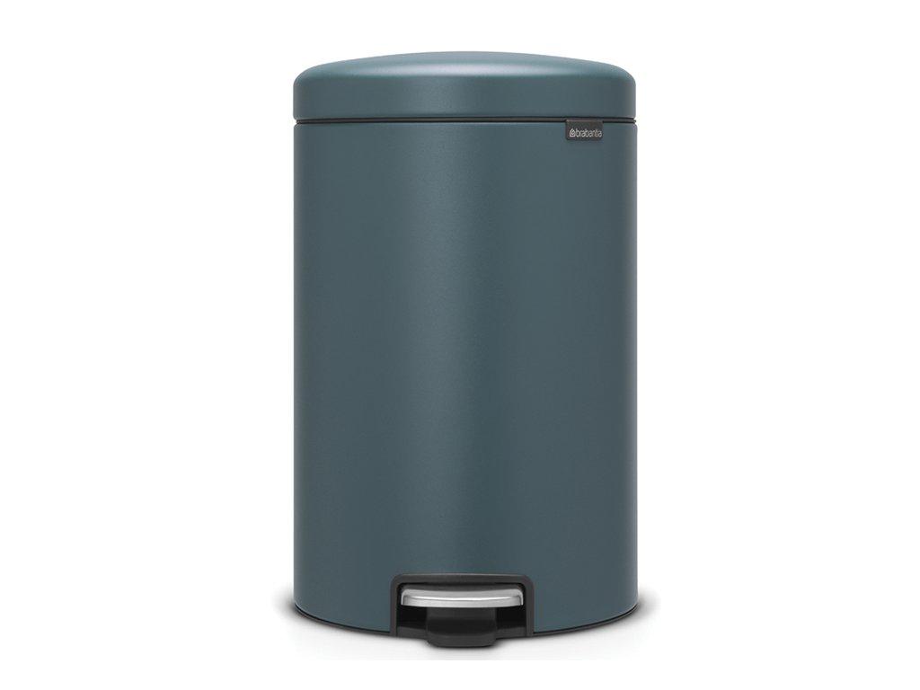 Pedálový koš NewIcon 20L minerální modrá