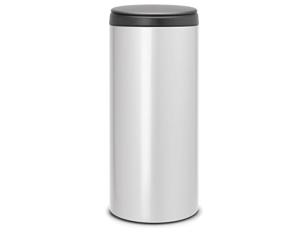 Flipbin 30L Metalická šedá