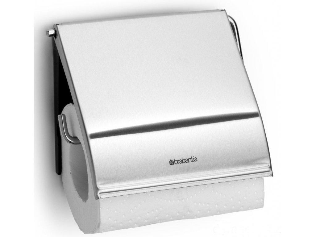 Držák toaletního papíru Classic matná ocel