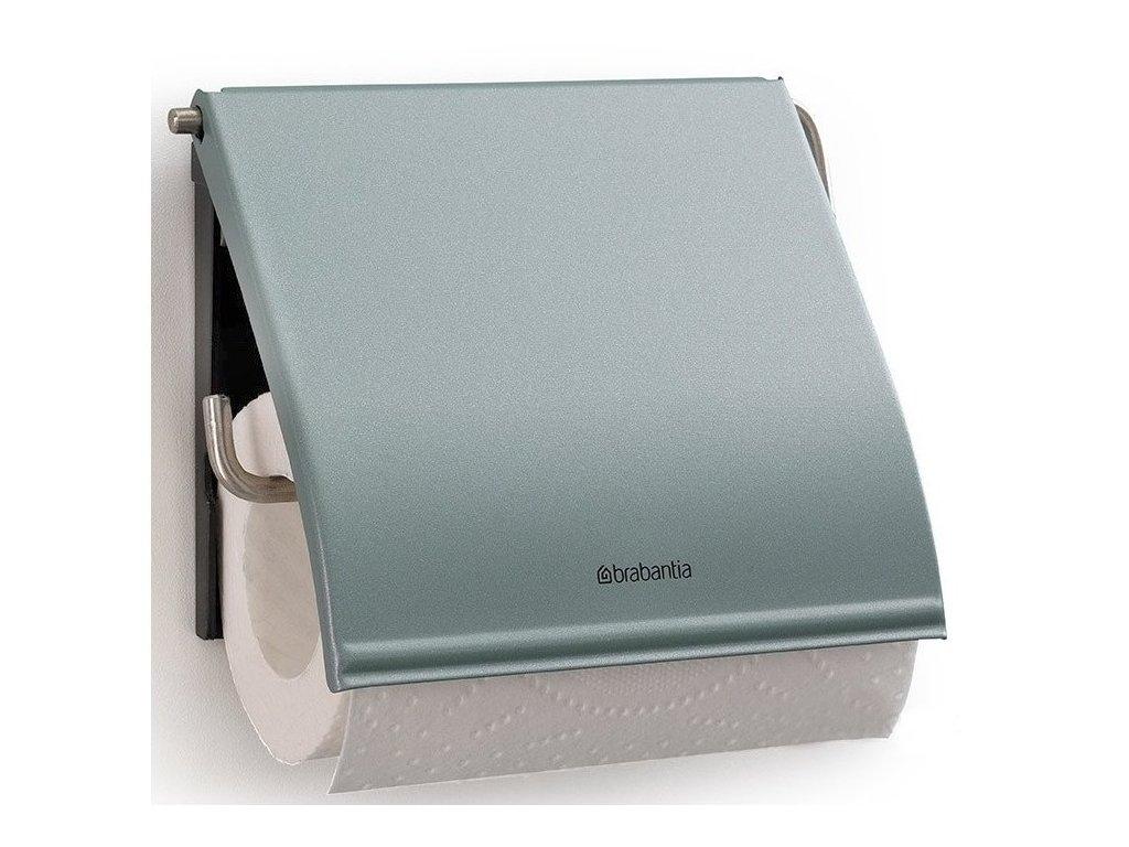 Držák toaletního papíru Classic metalická mátová