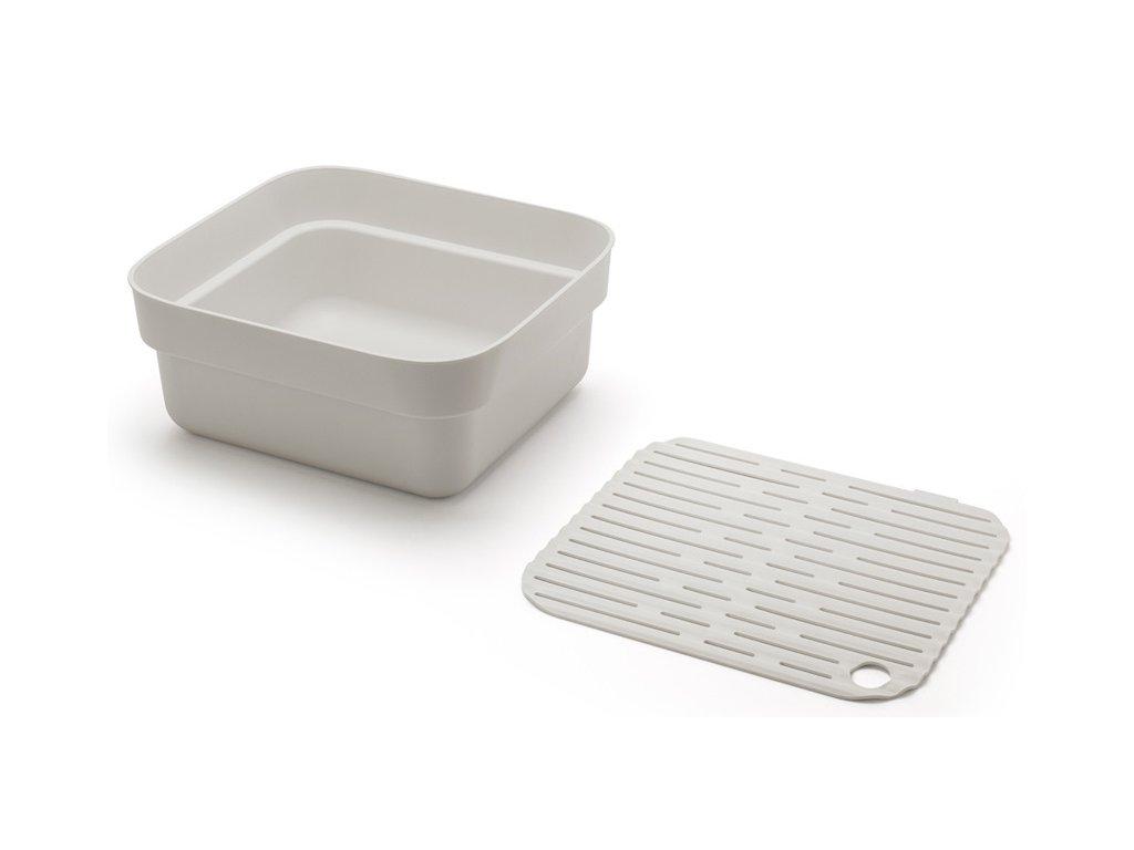 Nádoba na mytí nádobí světle šedá