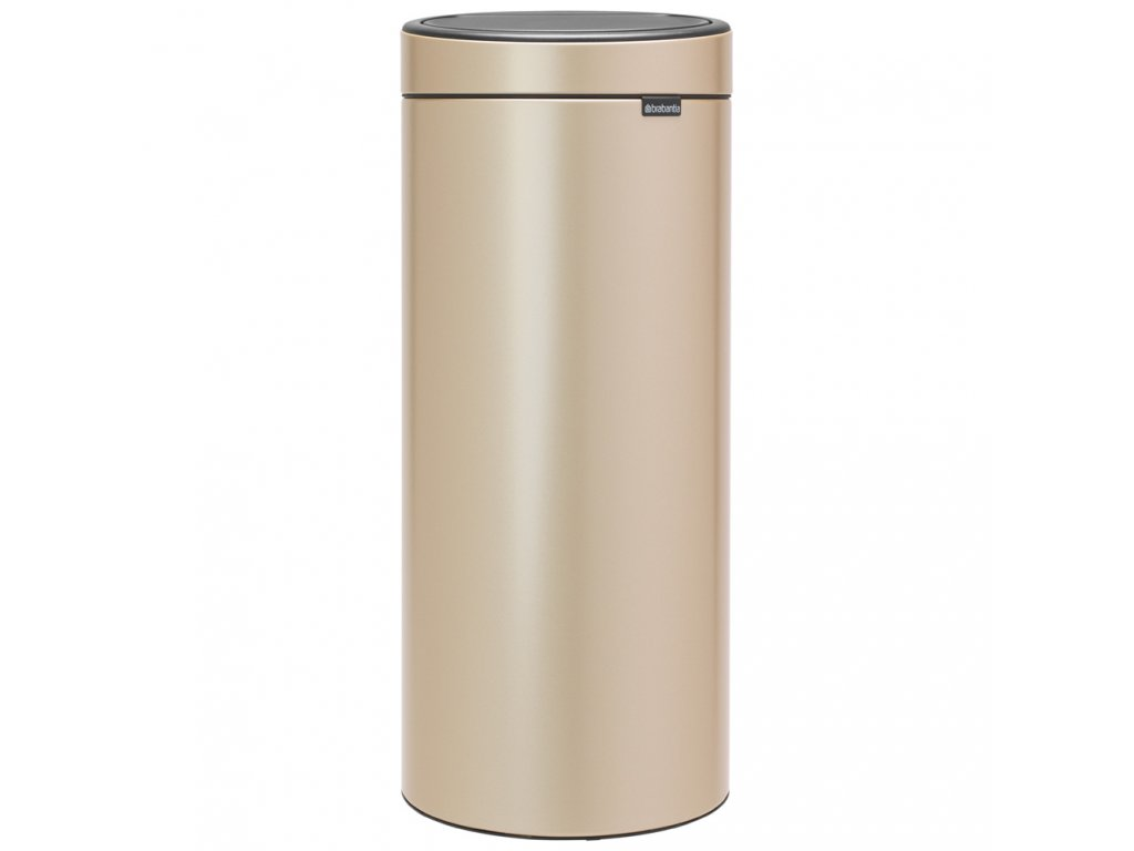 Touch Bin NEW 30L champagne