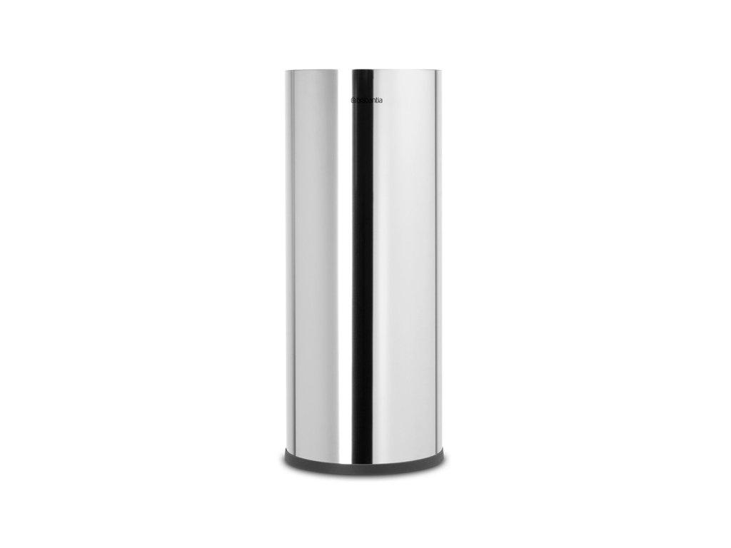 ReNew Toilet Roll Dispenser Brilliant Steel 8710755280580 Brabantia 96dpi 1000x1000px 7 NR 20168