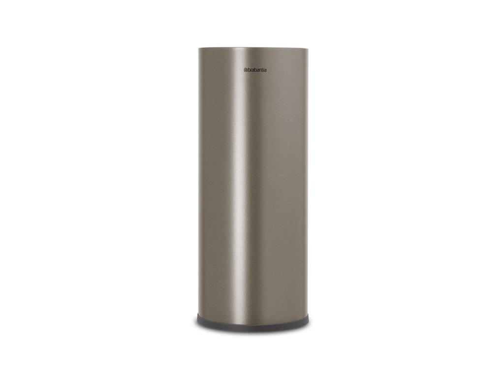 ReNew Toilet Roll Dispenser Platinum 8710755280542 Brabantia 96dpi 1000x1000px 7 NR 20147