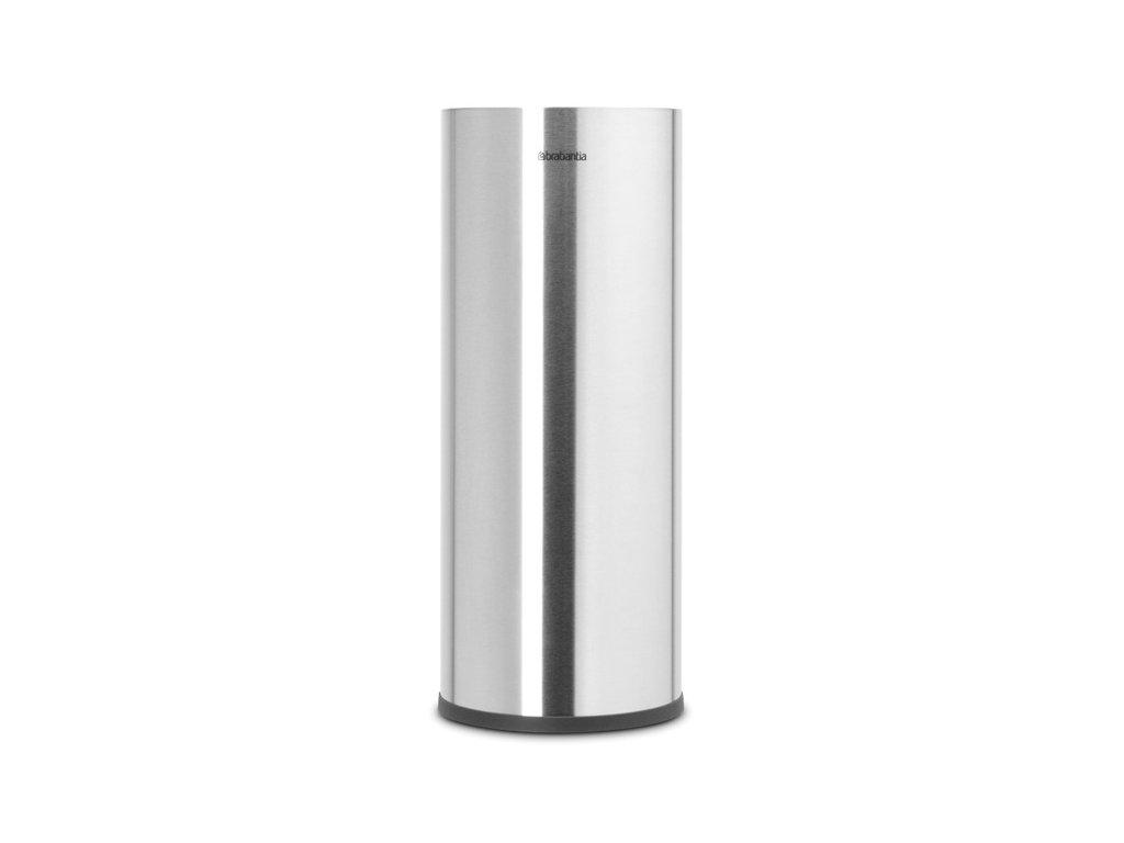 ReNew Toilet Roll Dispenser Matt Steel 8710755280566 Brabantia 96dpi 1000x1000px 7 NR 20162