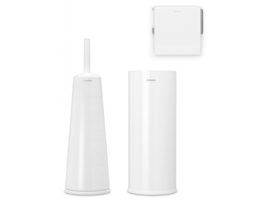 ReNew Toilet Accessory Set of 3 White 8710755280627 Brabantia 96dpi 1000x1000px 7 NR 21495