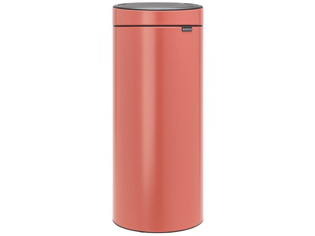 Touch Bin New, 30L Terracotta Pink 8710755304385 Brabantia 96dpi 1000x1000px 7 NR 20652
