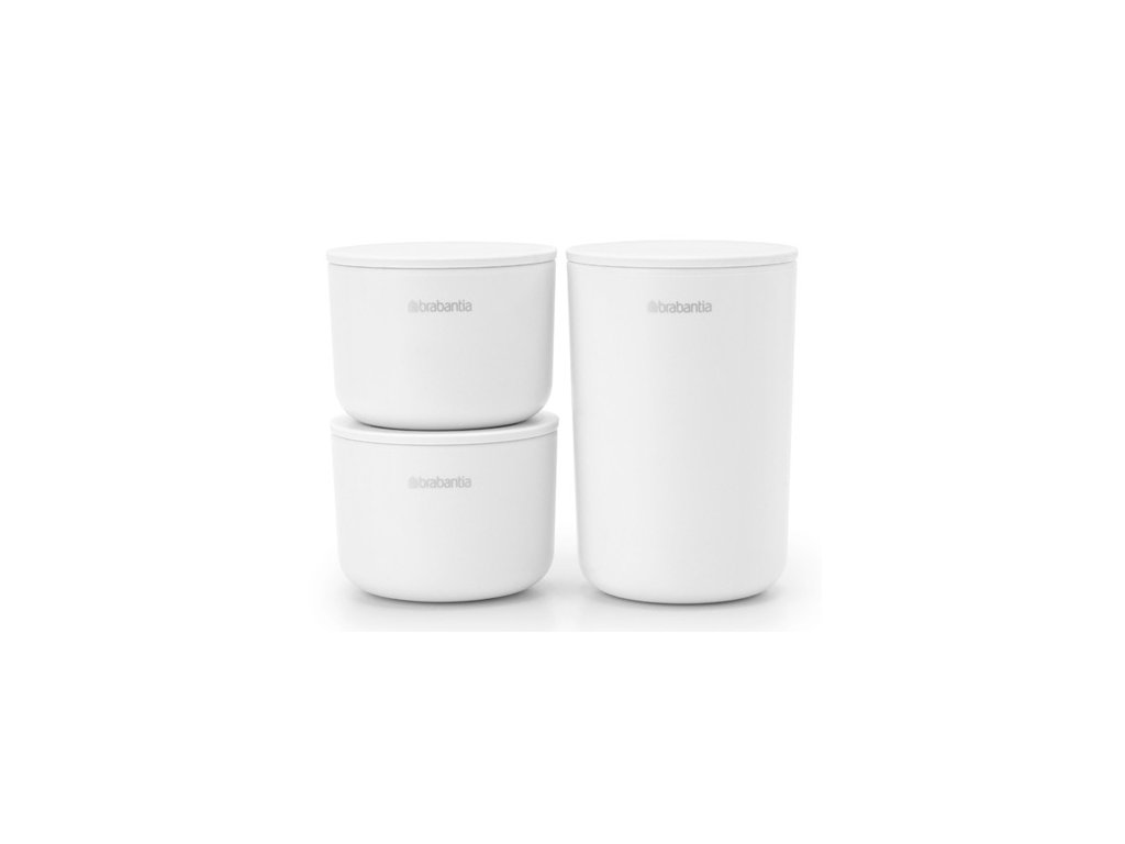 ReNew Storage Pots, set of 3 White 8710755281327 Brabantia 96dpi 1000x750px 7 NR 22050