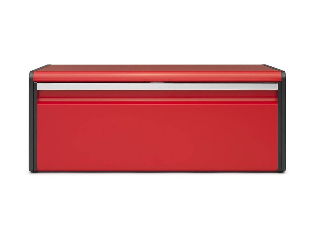 Chlebník Fall Front zářivě červená  + prkénko zdarma