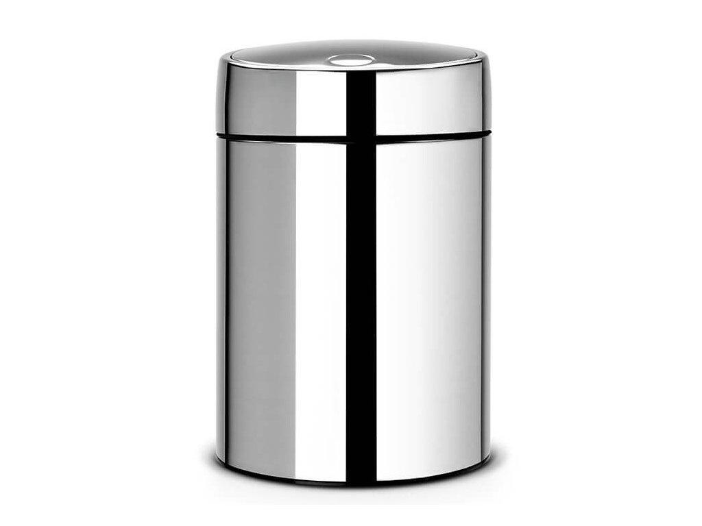 Koš Slide Bin De Luxe 5L lesklá ocel