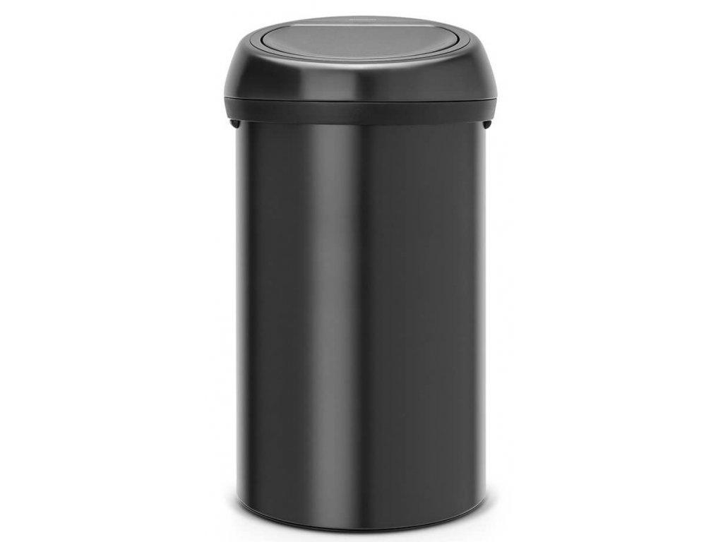 Koš Touch Bin 60L matná černá/černé víko