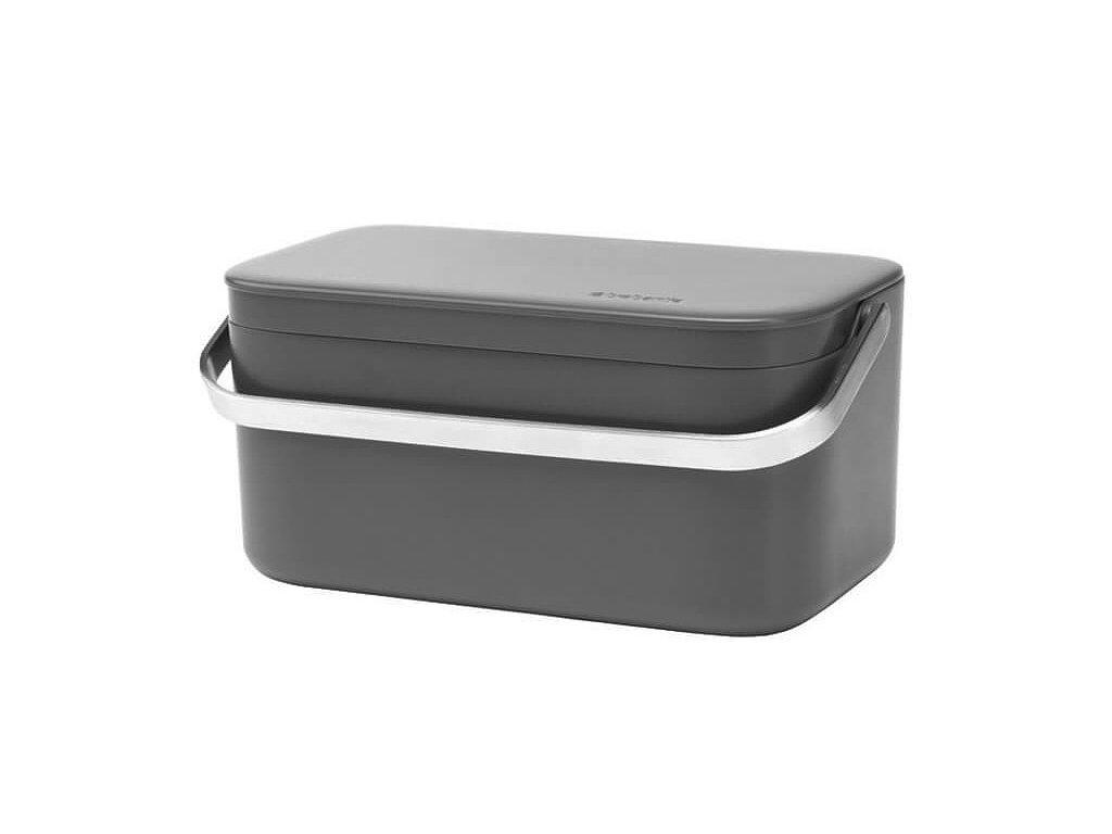 Košík na Bio odpad šedá