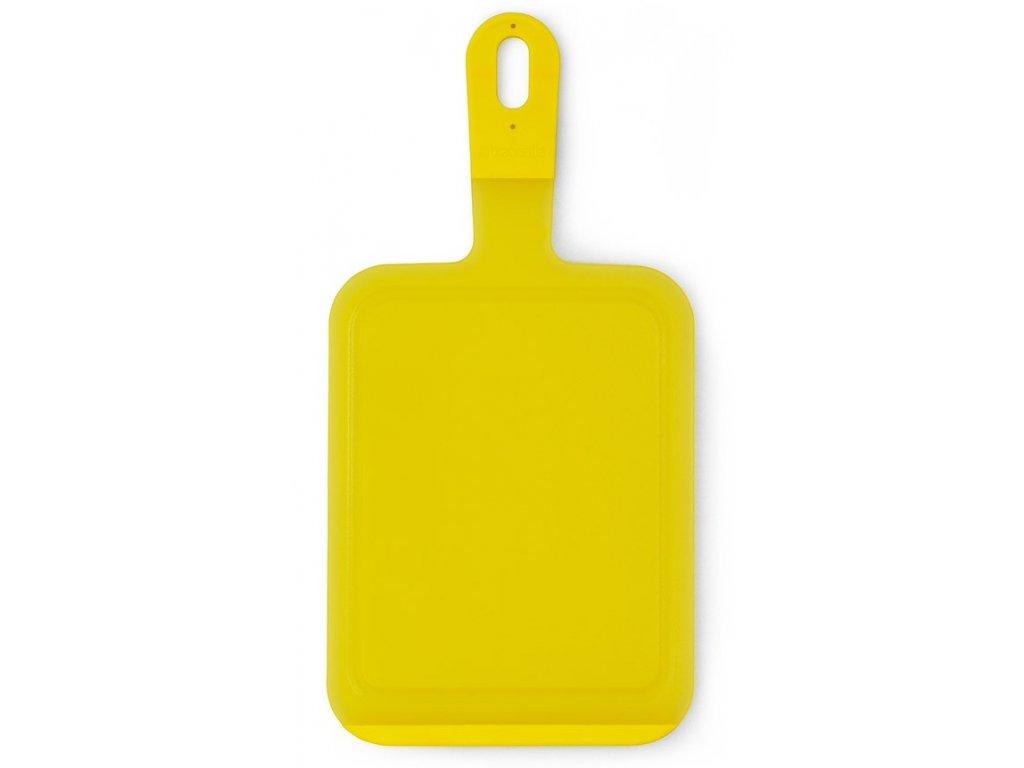 Krájecí deska žlutá