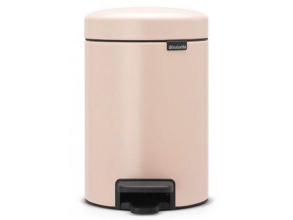 Pedálový koš NewIcon 3L růžová
