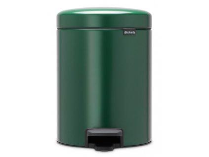Pedálový koš NewIcon 5L zelená