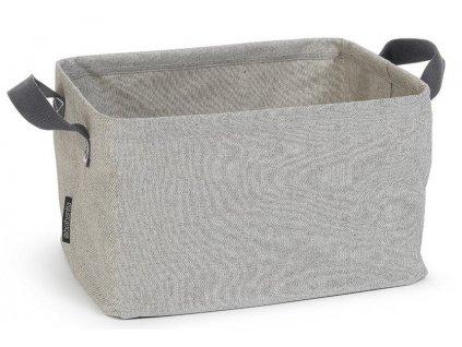 Skládací koš na prádlo šedá
