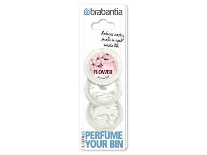 Vůně do koše Perfume Your Bin 3 náplně květiny