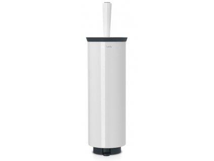 WC štětka s držákem bílá
