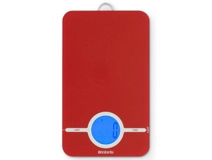 Digitální kuchyňská váha Essential červená