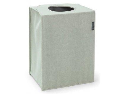 Taška na prádlo obdélník zelený melír