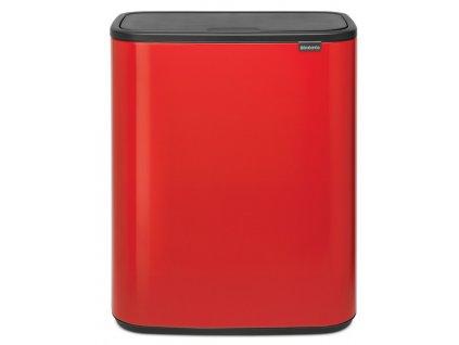 BO Touch Bin 60L zářivě červená